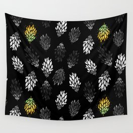-Only few are gold- on black Wall Tapestry