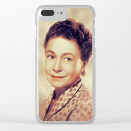 Thelma Ritter, Vintage Actress Clear iPhone Case