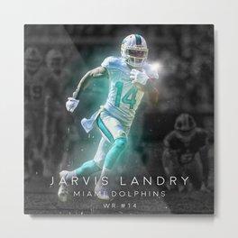 Jarvis Landry Metal Print
