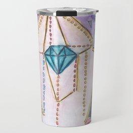 Diamante - rainbow new world Travel Mug