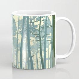 deer and deer in the forest Coffee Mug