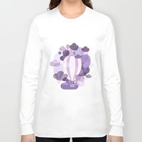 balloons Long Sleeve T-shirts featuring Balloons by mirimo
