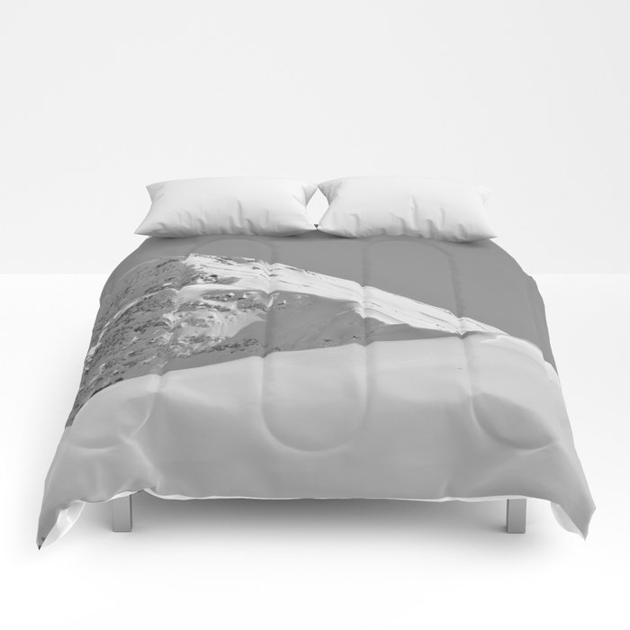 White as Snow Comforters