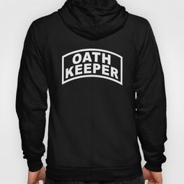 Oath Keeper Banner Hoody