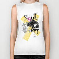 soul Biker Tanks featuring Soul by Tshirt-Factory