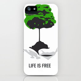 Cost of life iPhone Case