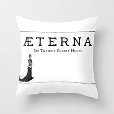 Æterna Throw Pillow