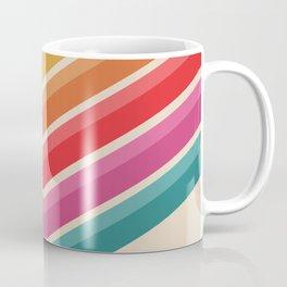 Retro Pattern - Steep Uphill #639 Coffee Mug