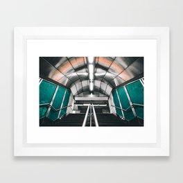 Montreal Subway | Métro de Montréal Framed Art Print