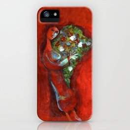 Mujer latina iPhone Case