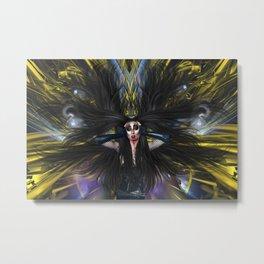 Kaotica Divine - Extension of Myself Fx  Metal Print