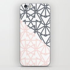 Black and Pink Crop Symmetry iPhone Skin