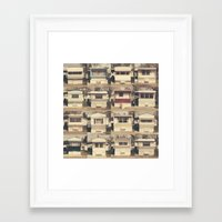 trailer park boys Framed Art Prints featuring Flamingo Trailer Park by Scott Lane