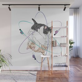 AtomCats Wall Mural