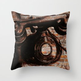 Brick House Phone Throw Pillow
