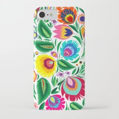 folk grassland iPhone 7 Slim Case