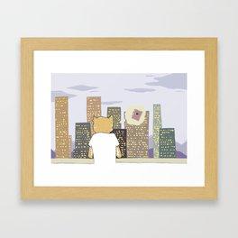 HER #4 Framed Art Print