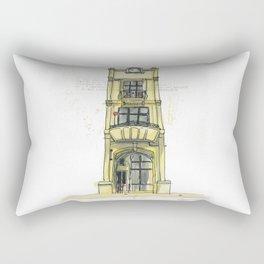 Building Tales - 9a Tory Street, Wellington Rectangular Pillow