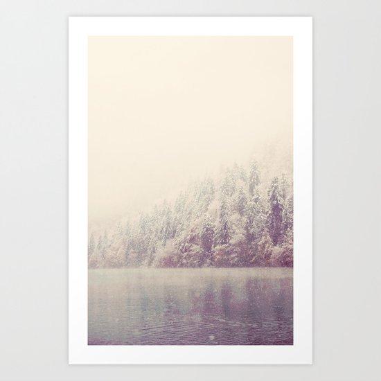 winter wonderland ...  Art Print