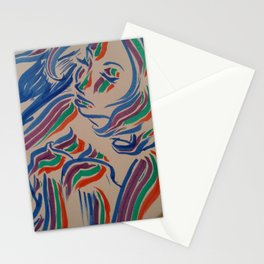 Flow with the Colours Stationery Cards