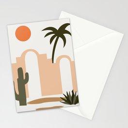 Mid Century Landscape 20001 Stationery Cards