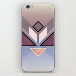 Tangram Lotus For iPhone Skin