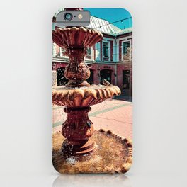Water for hot summer days iPhone Case