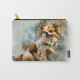 Chihuahua Art Carry-All Pouch