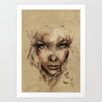 crystal Art Prints featuring [Crystal] by Mario Alba