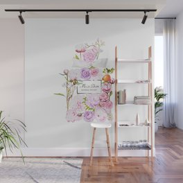 Parfum Perfume Fashion Floral Flowers Blooming Bouquet Wall Mural