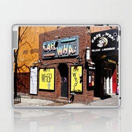 Cafe Wha? Greenwich Village NYC Laptop & iPad Skin