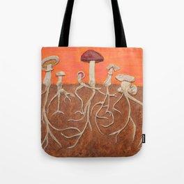 Laughing Shrooms Tote Bag