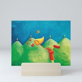Catching Love Mini Art Print