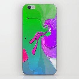 Breaking Through Illusion Into Reality  iPhone Skin