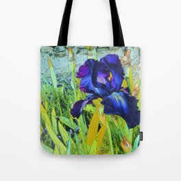 Iris Harmonies Tote Bag