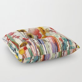 ce doux matin Floor Pillow