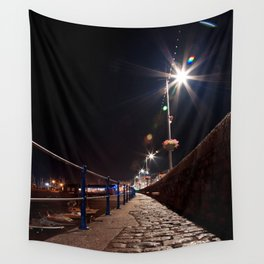 Guernsey Night Path Wall Tapestry