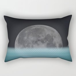 Lonely Moon Rectangular Pillow