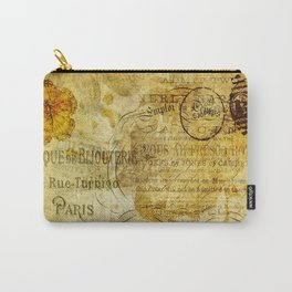 Postcard Lettre 5 Carry-All Pouch