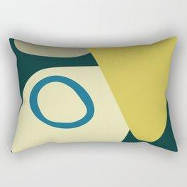 Abstract No.9 Rectangular Pillow