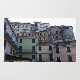 Italian Colorful Houses Rug