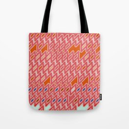 Psychedelic African Jazz 76' Tote Bag
