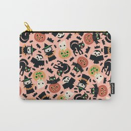 Halloween Gang Pink Carry-All Pouch