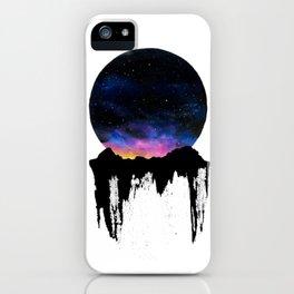 Mountain Sunset II iPhone Case