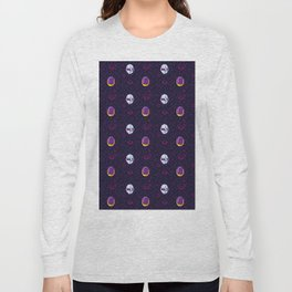 Daft Punk Pattern Long Sleeve T-shirt