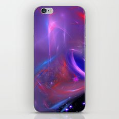 Cosmic Twister iPhone & iPod Skin