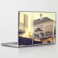 napoleon Laptop & iPad Skins featuring Napoleon Corner by Briole Photography