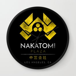 Nakatomi plaza Wall Clock