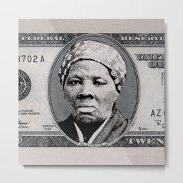 Harriet Tubman Twenty Dollar Bill Metal Print