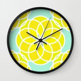 LesFleurs Wall Clock